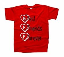 Fajna koszulka BEST FRIENDS FOREVER - koszulka przyjaźni  / koszulka dla przy...