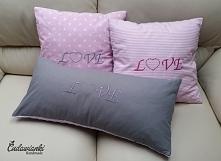 Poduszki Love kontakt@cudawianki.net.pl