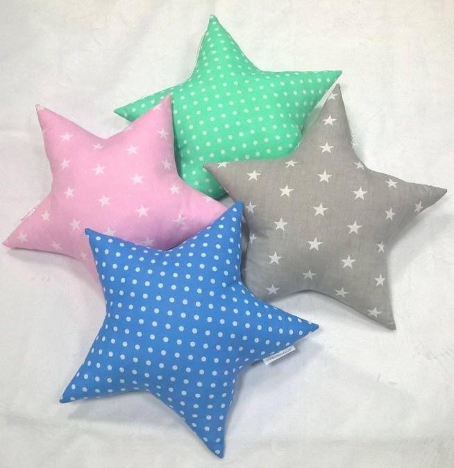 poduszki gwiazdki