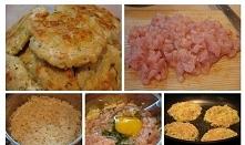 Kotlety ryżowe z kurczakiem.