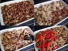 Zapiekanka z mięsem mielonym i papryką