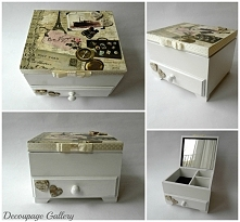 Komodka szkatułka PARIS :)  wiecej na mojej stronie na fb!
