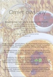 Najlepszy omlet owsiany jak...