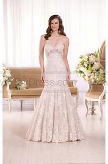 Essense of Australia Fit-And-Flare Strapless Wedding Dress Style D2042  $479.00(52% off)  2016 wedding dress,cheap wedding dresses online,plus size wedding dresses,wedding dress...