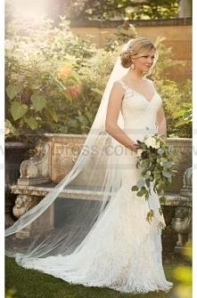Essense of Australia Romantic Lace Wedding Gown Style D2065  $479.00(51% off)  2016 wedding dress,cheap wedding dresses online,plus size wedding dresses,wedding dress for sale,w...