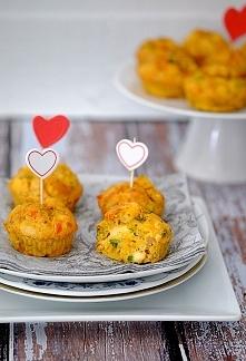 Muffiny z kurczakiem