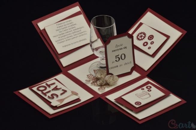 Box na 50te urodziny :)