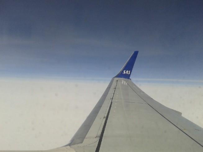 w chmurach...:))))  bo my z kolegą lubimy sobie polatac :))))