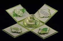Papierowy urodzinowy tort:)