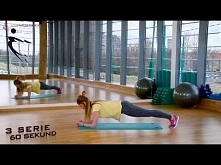 Plank (deska) - ćwiczenie n...
