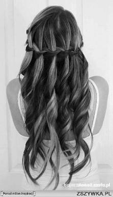tyle razy próbowałam wykonać tą fryzurę , niestety nigdy nie wyszło