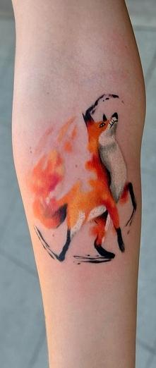Watercolor Fox.
