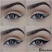 eyeliner w dłoń i do dzieła ♡