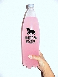 Pink unicorn water