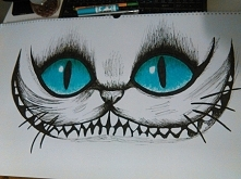 Rysunek kota z cheshire - drugie życie kalendarza