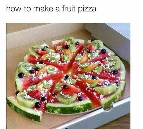 Zdrowa pizza :D