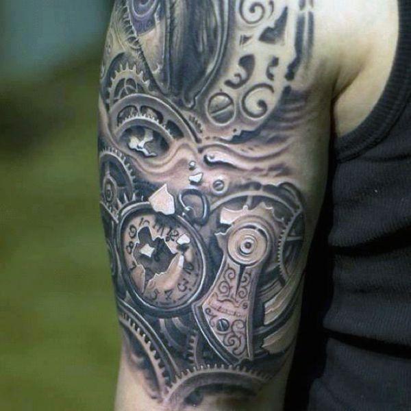 Tatuaze 3d Dla Mezczyzny Na Tatuaze Zszywka Pl