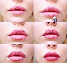 USTA W ROZMIARZE XXL! Powiększ je makijażem! SUPER trik bez ingerencji chirurgicznej...