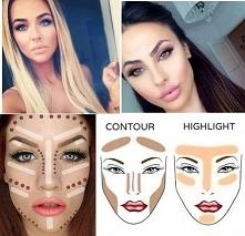 Prawidłowe konturowanie i rozświetlanie twarzy...Nie popełniaj więcej BŁĘDU.