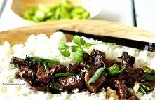 Wołowina po mongolsku