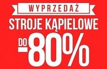 Stroje kąpielowe już od 14,90zł! Totalna wyprzedaż w sklepie Olive.pl!