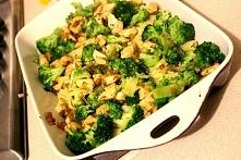 Zapiekanka brokułowa z kurczakiem. Kliknij w zdj