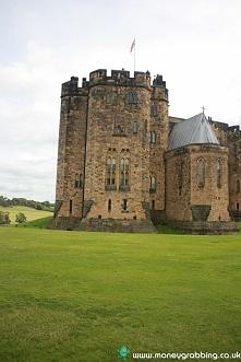Alnwick Castle najsłynniejszy zamek w UK