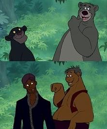 Zwierzęcy bohaterowie disne...