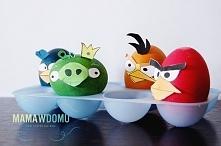 wielkanocne jajka Angry Birds (więcej na mamawdomu.pl)