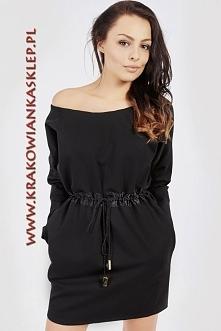 czarna sukienka na co dzień