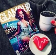 Rihanna na okładce Glamour