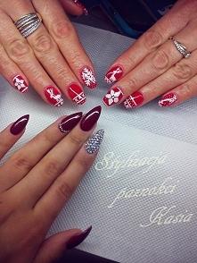 #semilac #zimowymanicure #paznokcie  zszywka.pl /u/kinnky1/zimowy-manicure-lt3-2589212.html