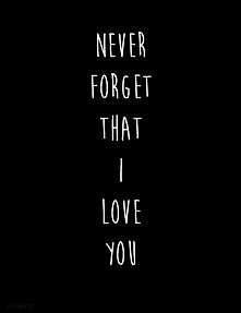 that I love You...