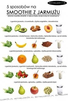 5 sposobów na smoothie