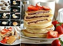 Nutella pancakes :o :)