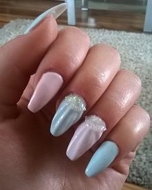 Pastelowo.. Muszelki + perły >>