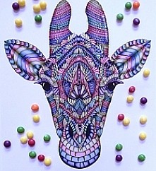 Szkice-Rysunki-Żyrafeła *-*