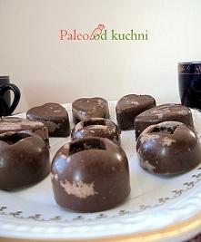 Łaciate paleo czekoladki - bez zbóż, bez nabiału, bez jajek