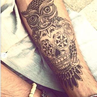 Sowa 3 Na Tatuaże Zszywkapl
