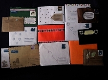 Uwielbiam pisać, wysyłać i otrzymywać listy. Tak wygląda moja skromna kolekcja. Ktoś z was także lubi pisać listy? A może jest ktoś chętny, kto chciałby tego spróbować i popisać...