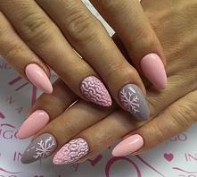 Sweterkowe szaro różowe ;)