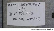 #napisywłazience