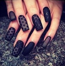 Piękna czerń z wzorkami..;];)