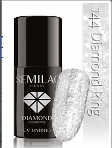 Charakterystyka: Kolor biżuteryjny. Melanż diamentowej drobinki i srebrnej, p...