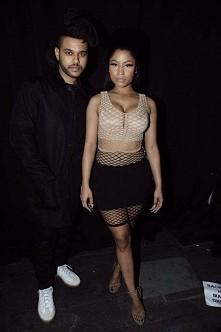 The Weekend. Nicki Minaj.