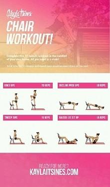 ćwiczenia z krzesłem ;)