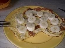 Dietetyczny Omlet Kukurydziany. Pyszne i zdrowe śniadanko! Składniki: dwa jaj...