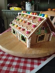 Świąteczny domek PIERNIKOWY...