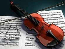 Moje skrzypce :)