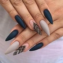 Eleganckie paznokcie :)